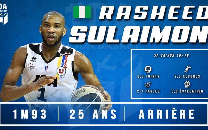 Rasheed Sulaimon rentre à la maison !