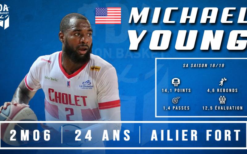 Le talentueux Michael Young arrive à Dijon