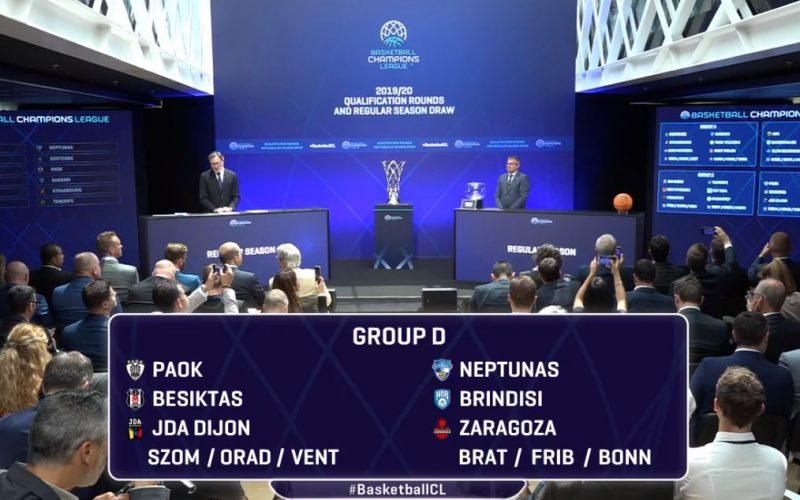 Découvrez les adversaires de la JDA Dijon en Champions League