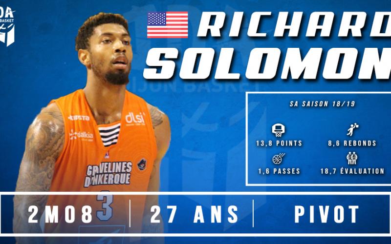 Richard Solomon clôture le recrutement estival