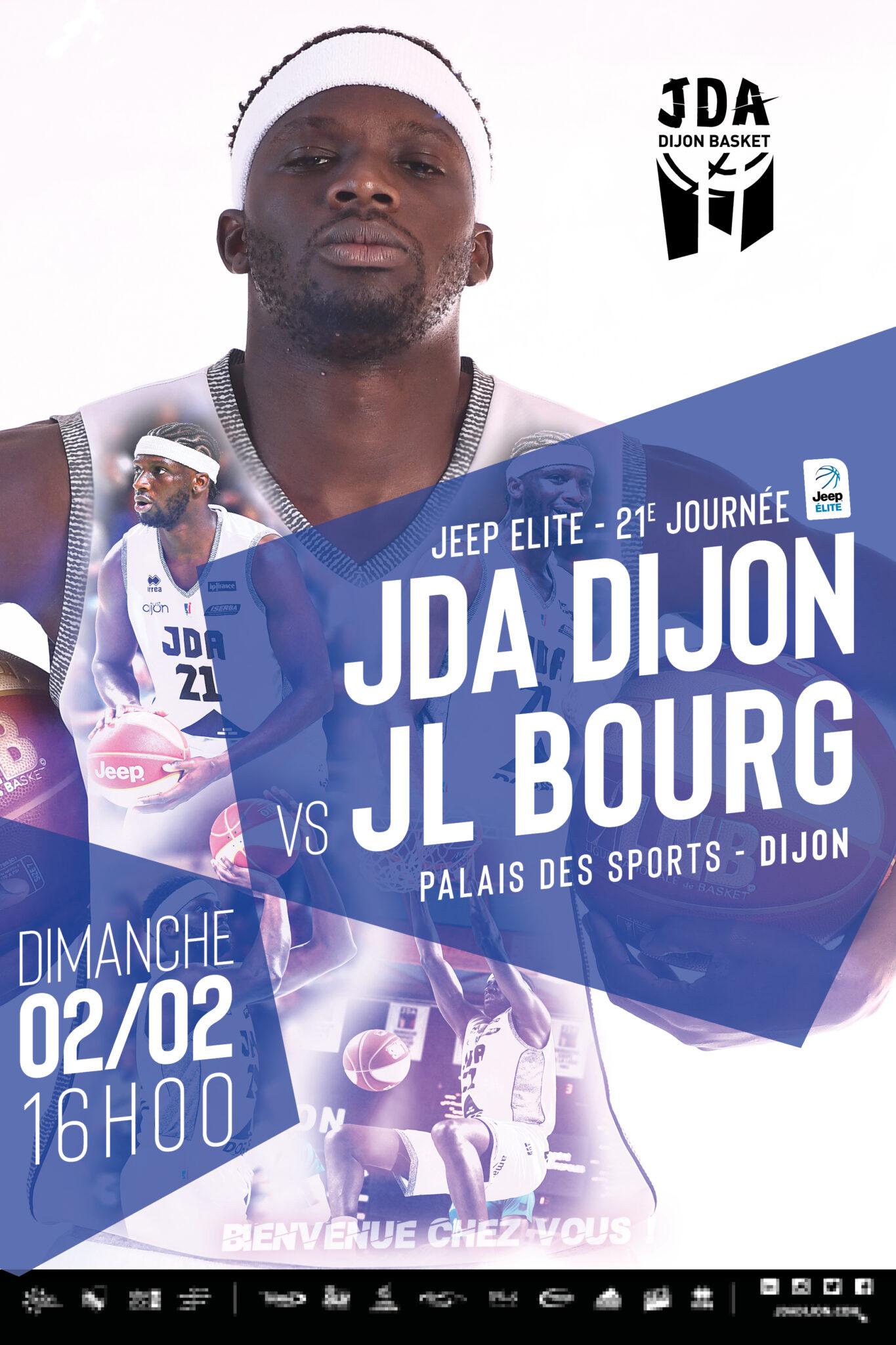 Affiche JL Bourg