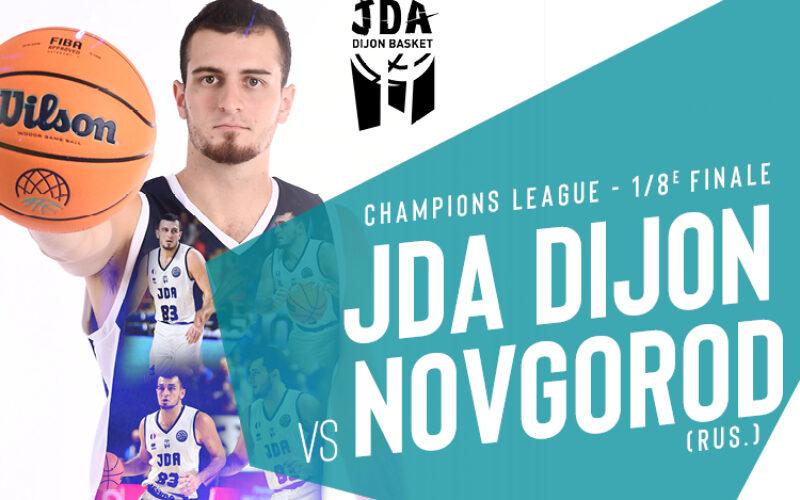 La JDA Dijon connait son adversaire en Playoffs de Coupe d'Europe