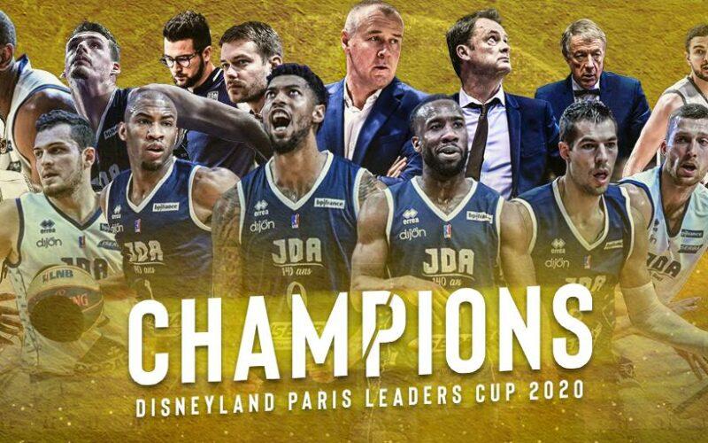 La JDA Dijon se sublime et remporte la Leaders Cup 2020