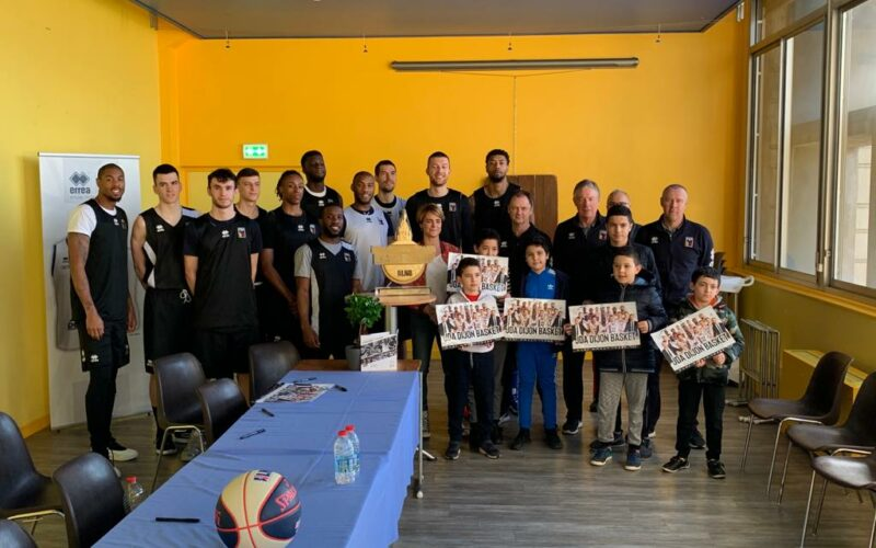 Nouveau rendez-vous au Palais pour Dijon Sport Loisirs Jeunes