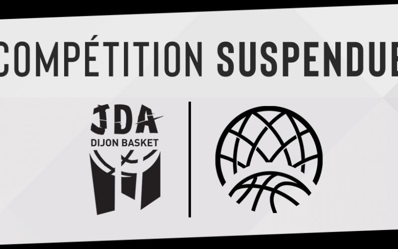 La Champions League suspendue – communiqué officiel de la JDA Dijon
