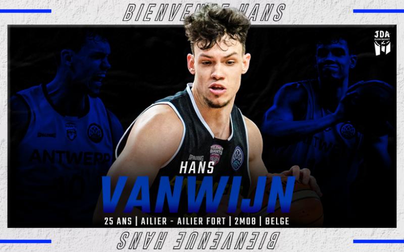 Hans Vanwijn – joueur belge de l'année – débarque à Dijon