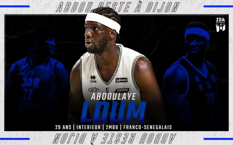 L'Histoire continue entre la JDA Dijon et Abdoulaye Loum