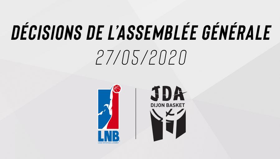 Décisions AG LNB