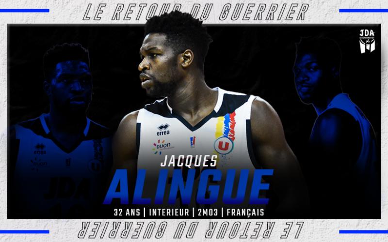 Le guerrier Jacques Alingué est de retour !