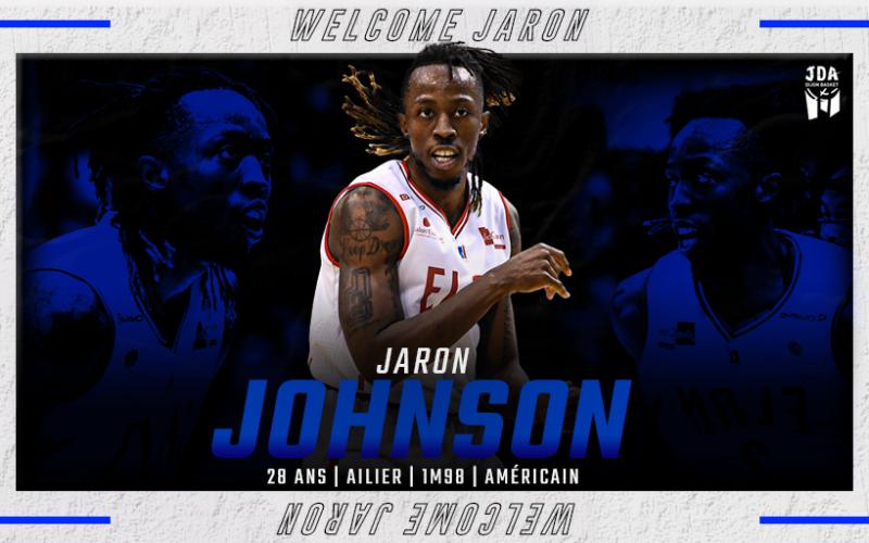 Jaron Johnson clôture le recrutement dijonnais