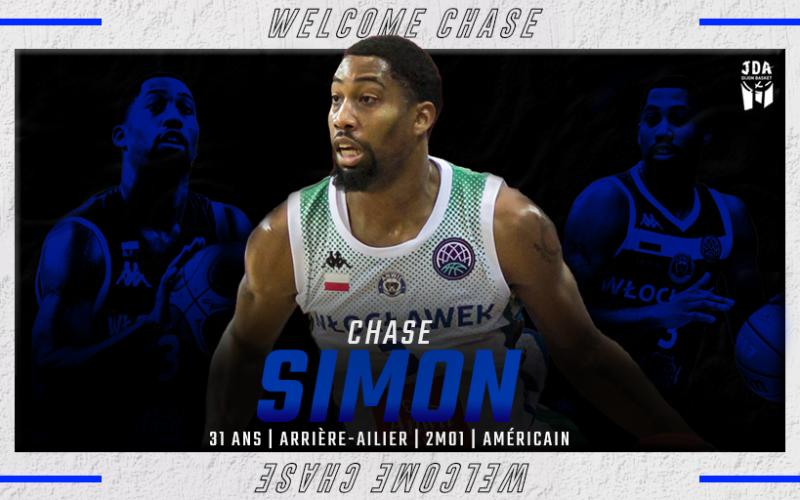 Chase Simon : un extérieur plein de talent à Dijon