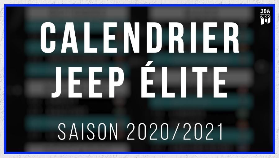 Calendrier Jeep Elite