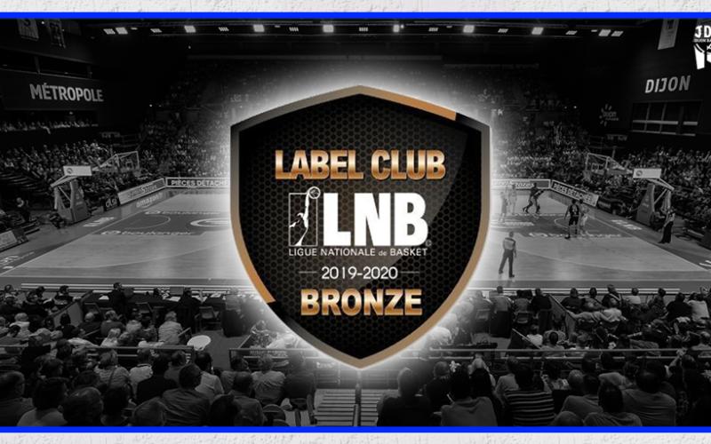 6ème label qualité en bronze pour la JDA Dijon