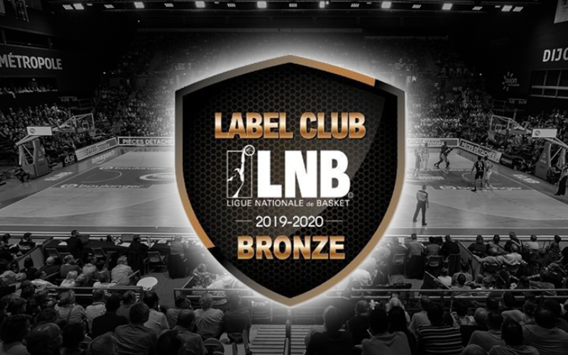 La JDA Dijon, label bronze pour la 7eme fois consécutive