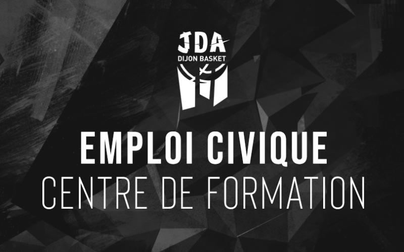 La JDA Dijon recherche un emploi civique