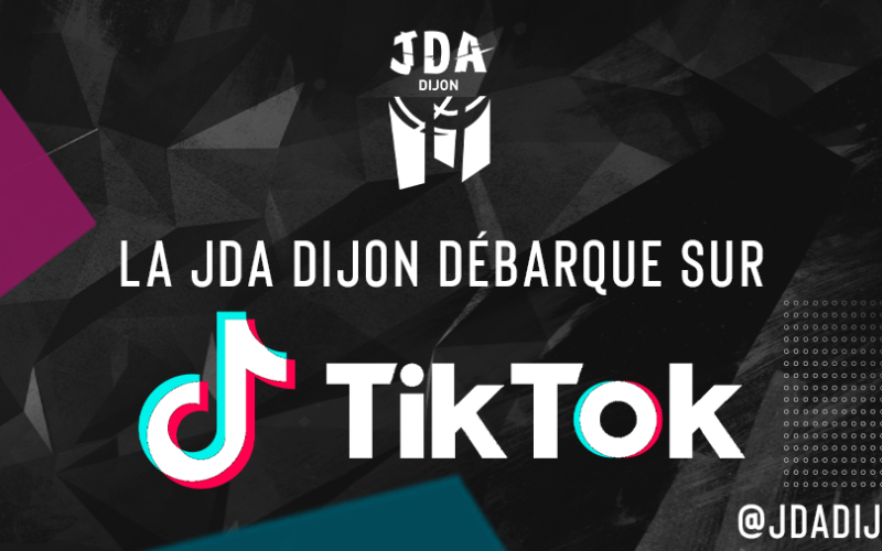 La JDA Dijon débarque sur TikTok !