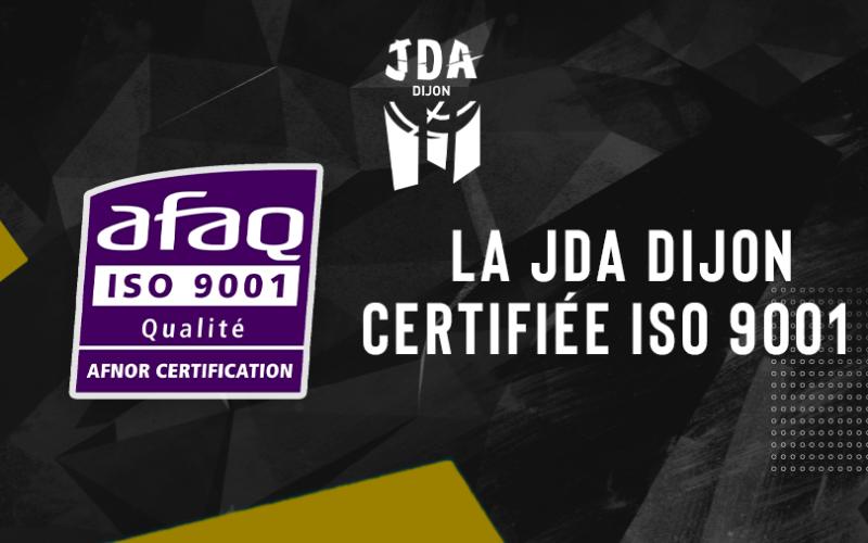 Un club omnisports certifié ISO 9001 : la JDA Dijon