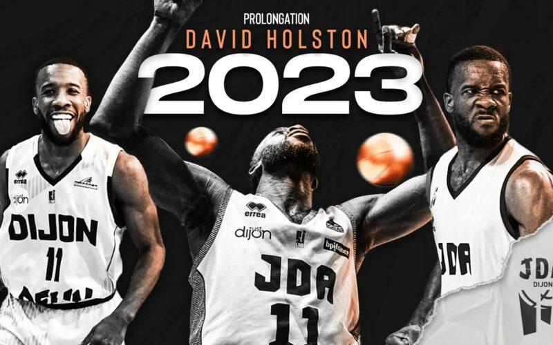 David Holston reste à Dijon pour les 2 prochaines saisons