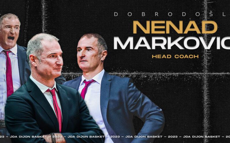 Nenad Markovic sera le prochain coach de la JDA Dijon