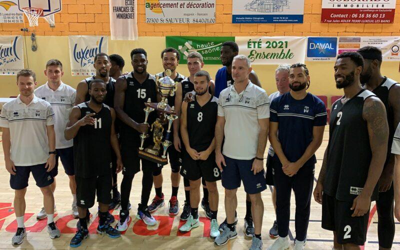 La JDA Dijon remporte le Lux Trophy