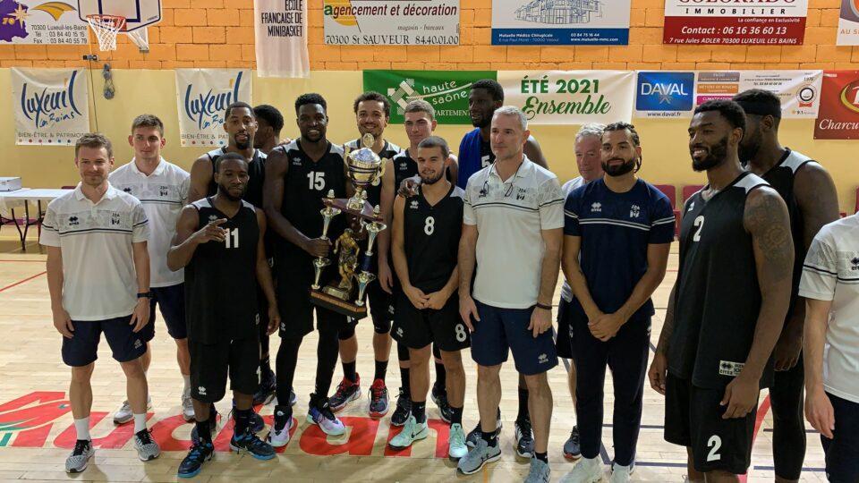 Dijon remporte le Lux Trophy à Luxeuil