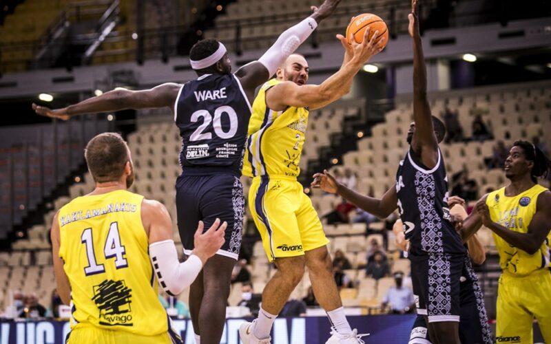 BCL : la JDA Dijon s'incline en Grèce